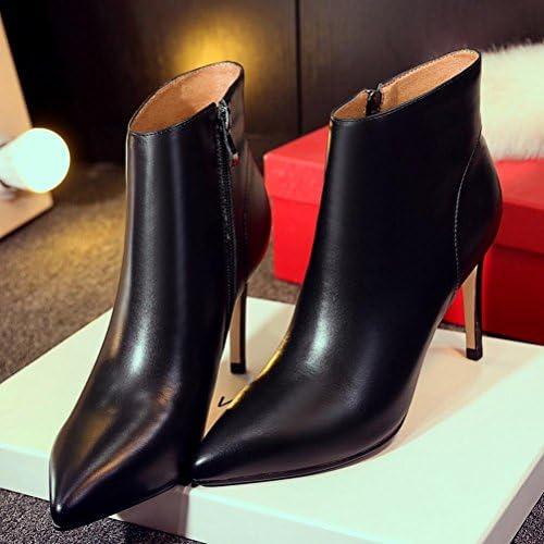 ZPL Mode-Spitzen Mode-Spitzen Mode-Spitzen high-Heel Lederstiefel  Kauf es einfach