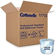 Cottonelle Professional Bulk Toilet Paper for Business (17713), Standard Toilet Paper Rolls, 2-Ply, White, 60 Rolls/Case, 451 Sheets/Roll