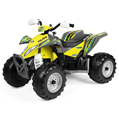 Peg Perego- Quad Polaris Outlaw Citrus, IGOR0090