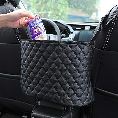 Car Net Pocket Handbag Holder, Seat Back Net Ba...