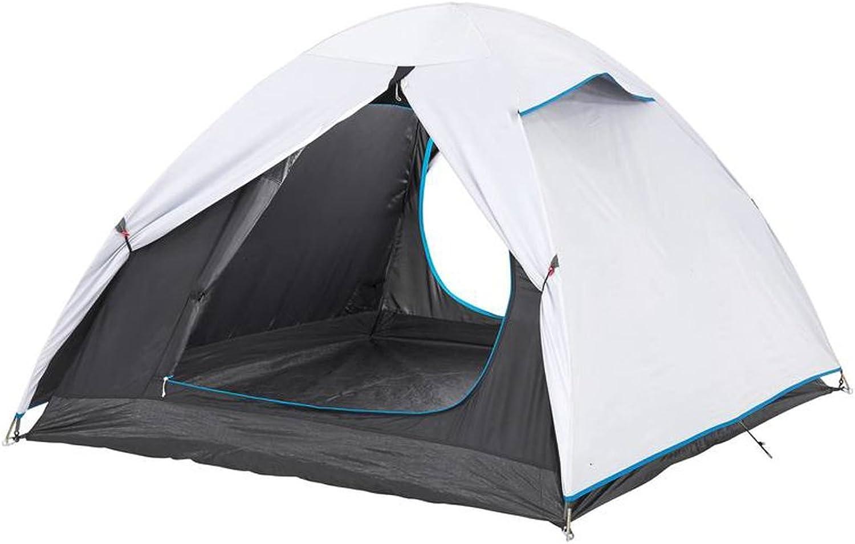 Camping Outdoor Zelte Zelt Im Freien Zelt Camping Zelt 2-3 Personen Wasserdicht UV Schutz Zelt Dome Camping Zelt ++ (Farbe   A)