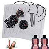 WATERCARNON Auto Seat Built-in Warmer Up Premium Seat Heater Kit High/Low Switch Settings Faster (2 Seat)