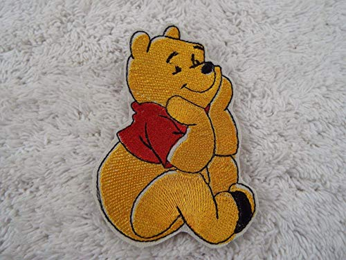 POOH Bear Embroidered Iron-on Patch