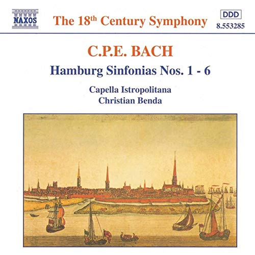Bach Carl Philipp Emanuel Hamb.Sinfonien 1-6 B