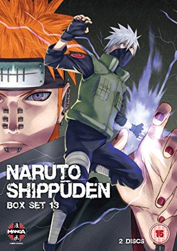 Naruto Shippuden Box 13 (Episodes 154-166) [DVD] [Import]