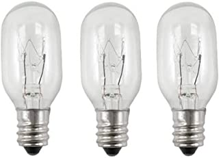 EFP Lighted Incandescent Mirror Replacement Bulb for Conair 20 Watt 3 Bulbs