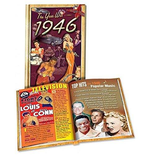 """The Year Was 1946"" Mini Hardcover Trivia Book"