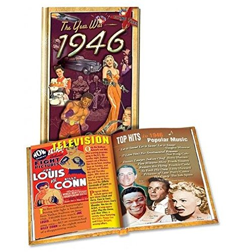 """The Year Was 1946"" Mini Hardcover Trivia Book"