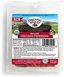 Organic Valley Organic Uncured Pepperoni Slices