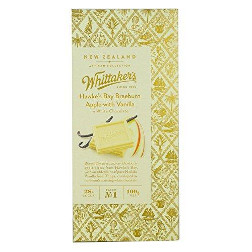 ウィッタカー アーティザンコレクッション アップル&バニラ ホワイトチョコレート 100g