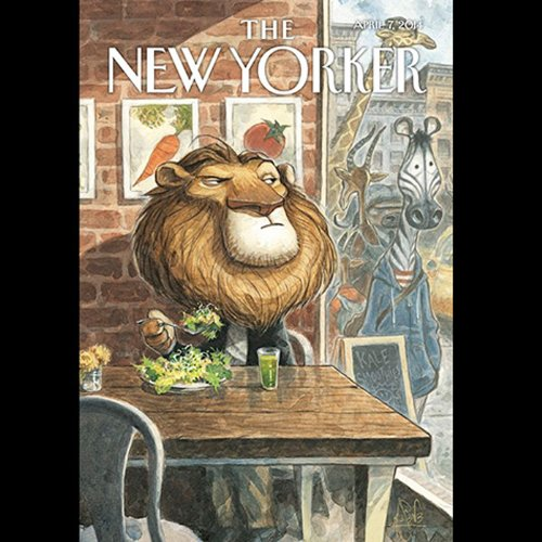 The New Yorker, April 7th 2014 (Evan Osnos, Jonathan Lethem, James Surowiecki) audiobook cover art