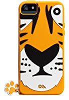 Case-Mate 日本正規品 iPhoneSE / 5s / 5 CREATURES: Tigris Case, Yellow クリーチャーズ: チグリス シリコン ケース, イエロー CM022553