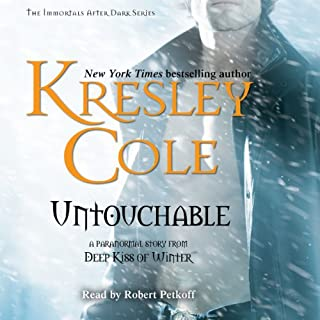 Untouchable: Immortals After Dark, Book 8                   Written by:                                                                                                                                 Kresley Cole                               Narrated by:                                                                                                                                 Robert Petkoff                      Length: 8 hrs and 42 mins     10 ratings     Overall 4.7