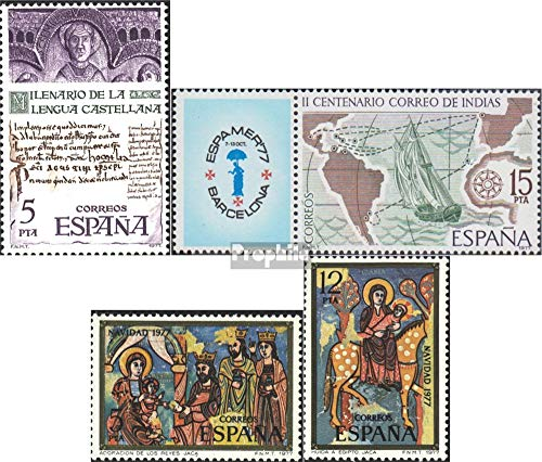 Prophila Collection España Michel.-No..: 2321,2330Zf,2338-2339 ...