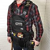 Atlas 46 Journeyman Chest Rig with Cargo Pockets, Black