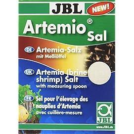 JBL ArtemioSal 30906 Salz zum Anmischen von Lebendfutter, Pulver 230 g