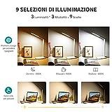 Zoom IMG-1 lampada scrivania 42 led da