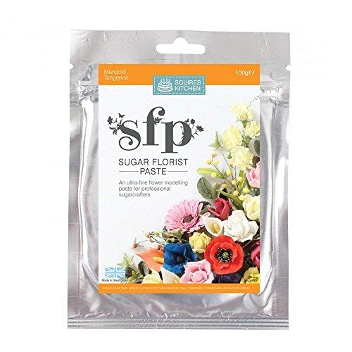Squires kitchen Blütenpaste, Marigold (Ringelblume), 100 gr