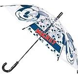 Paraguas automático para niños con licencia oficial de 75 cm para niñas y niños. Paw Patrol, Disney Mickey Minnie Mouse Frozen, Spiderman LOL personajes
