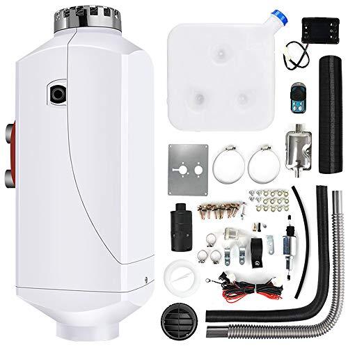 Triclicks 12V 5KW Diesel Luftheizung Air Standheizung Kraftstoff Auto Heizung Lufterhitzer mit Fernbedienung LCD Monitor für RV, Boote, LKW, Wohnmobil Anhänger, Wohnmobile (Stil 4)