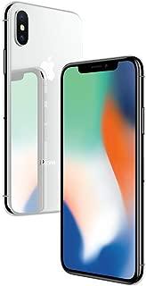 Apple iPhone X Plata 64 GB (Renewed)