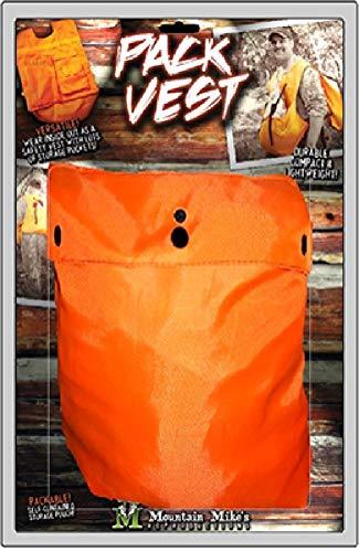 Mountain Mike 's reproducties Unisex tas Sherpa de lichtste, comfortabele, voordelige vleesverpakking op de markt, Hunter veiligheid, eenheidsmaat, oranje