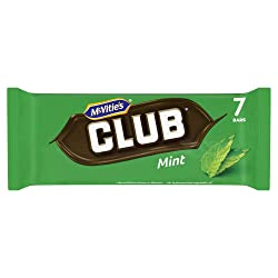 McVitie's Club Mint Chocolate Biscuit Bars