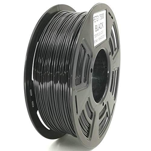 Stronghero3D desktop fdm 3d drucker filament PETG schwarz 1.75mm 1kg (2.2 lbs) dimension genauigkeit von + / -0.05mm