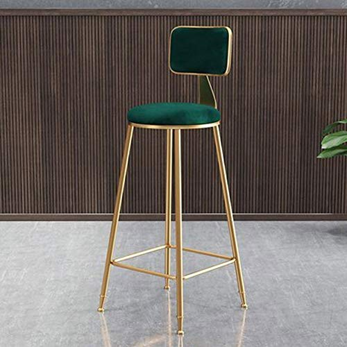 kengbi Comfortabele en ademende Zero Gravity Stoel Moderne Eenvoudige Nordic Stijl Achterstoel Barstoel Creatieve Moderne Stijlvolle Duurzame Keuken Teller Stoelen Past Voor Teller Keuken Koffie Shop