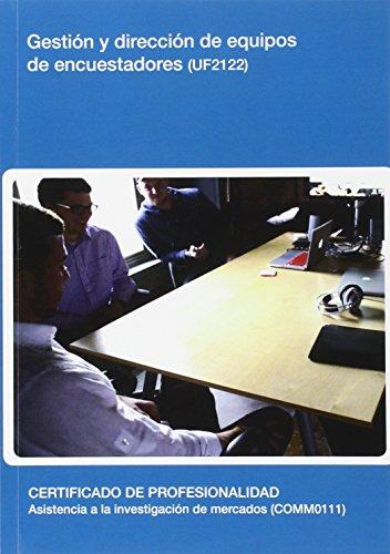 Gestión y dirección de equipos de encuestadores (UF2122)