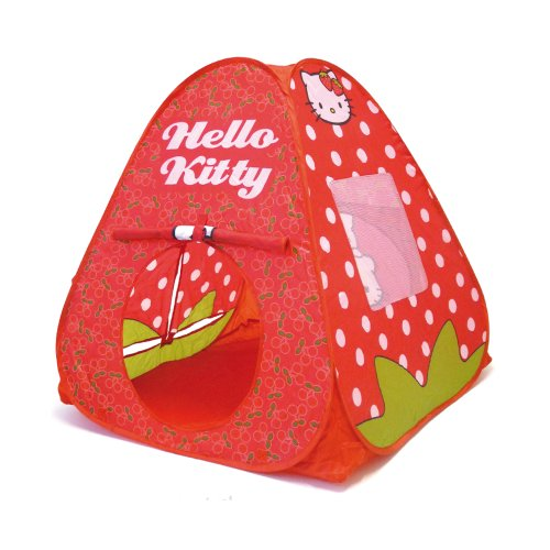 Darpeje OHKY033 HELLO KITTY- Pop-up Zelt mit Tasche
