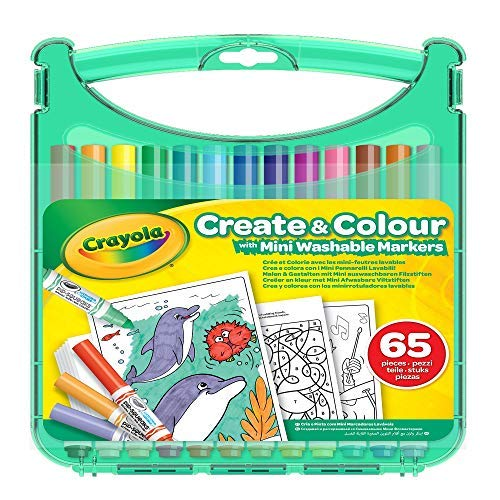 Crayola Create & Color Etui, waschbar, 04-0379-E-000