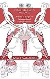 Cómo dibujar un personaje: Método de dibujo con la anatomía del cuerpo humano (Spanish Edition)