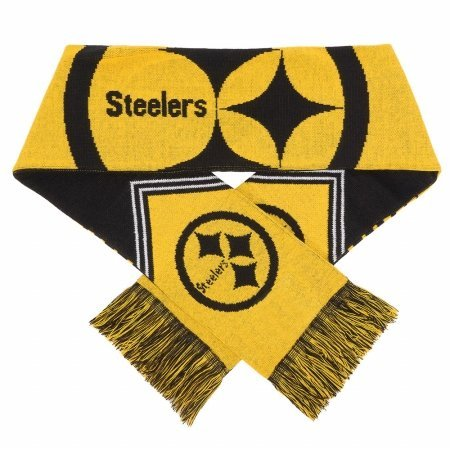 Forever Collectibles 9016317014 - Sciarpa Pittsburgh Steelers, a righe reversibili, 2016 by Forever Collectibles
