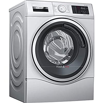 Bosch WDU28568GB 10kg 1400rpm Wash 6kg Dry Serie 6 Freestanding Washer Dryer - Silver