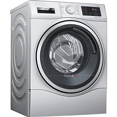 Bosch WDU28568GB Freestanding A Rated Washer Dryer in Silver