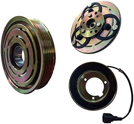 CoolTech AC Compressor Cheap mail New mail order order sales Clutch Kit FITS Nissan Pulley SENTRA Coil