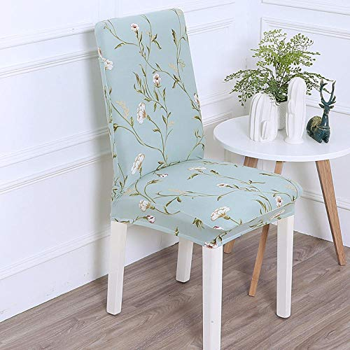 Suuki Elastic Chair protective covers for dining chairs,Cartoon Dining Chair Covers,universal cute chair cover Slipcovers,Removable,Chair Seat Cover for Kitchen,bedroom,living room-I_Pack_of_4