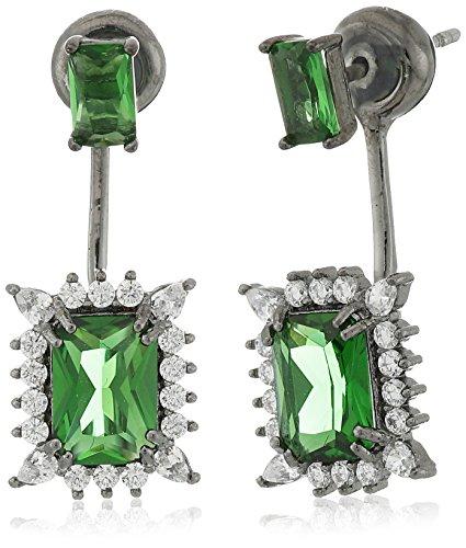 Noir Jewelry Green Alexandra Earring Jackets