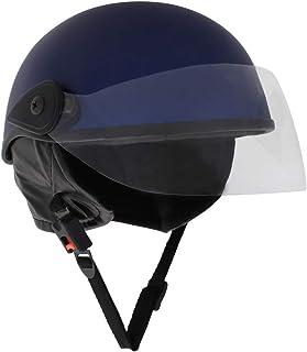 Sage Square Ladies Scooty Helmet (Blue Matte)