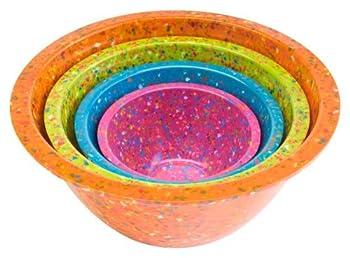 Zak Designs Confetti Mixing Bowl Set 4-Piece DAA