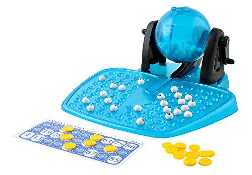 ISO TRADE Bingo Lotterie Brettspiel Spielzeug Lotto Bälle Käfig Familie Zähler 1556