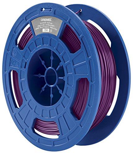 Dremel 3D Drucker (PLA Filament 1,75mm, Zubehör für DigiLab 3D-Drucker (3D20, 3D40, 3D45), mit RFID Material Erkennungs-Chip) lila/ violett
