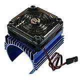 Xiangtat Ezrun 5V C4 Cooling Fan & 44 x 65mm Motor Heat Sink System RC Motor Fan for 1/8 Car