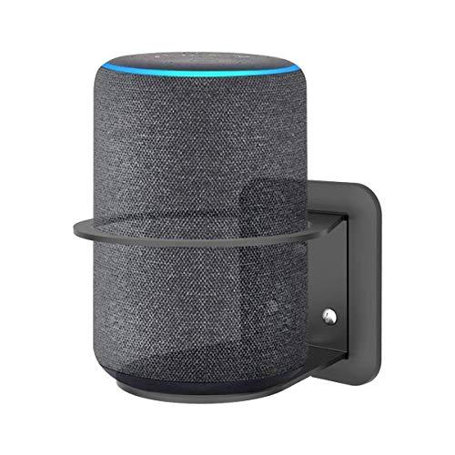 Cozycase Soporte Ech (2da generación) y Soporte para Google Home, administración de Cables integrada, una solución Que Ahorra Espacio - Negro
