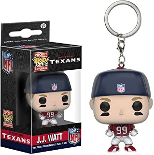 Funko POP Keychain: NFL - JJ Watt Action Figure
