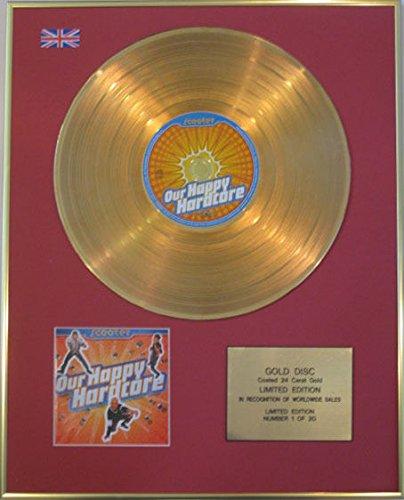 SCOOTER - edición limitada - 24 Carat Gold CD disco duro nuestro feliz