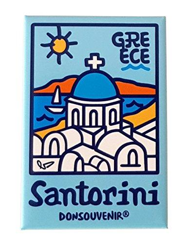 DONSOUVENIR MAGNETICO Santorini - Islas GRIEGAS Grecia.