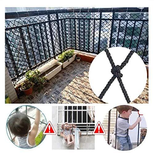 Hoge hoogte Val Preventie Net Zwart beschermende net, balkon anti-val net trap hek net, outdoor camping hangmat, outdoor klimnet, kind veiligheid net (grootte: 2*5m) Outdoor Kinderen Klimmen Ro