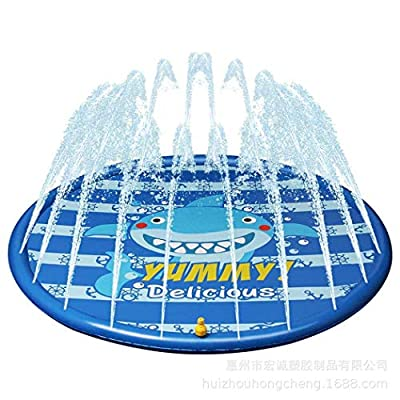 Isopeen Portable Outdoor Garden Lawn Inflatable Water Spray Play Mat Children Play Mat Pool Rafts & Inflatable Ride-ons